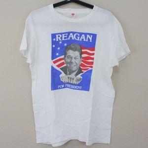 VTG Ronald Reagan Single Stitch T-Shirt D409